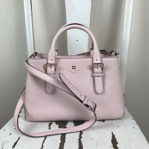 Kate Spade Blush Pink Satchel / Crossbody